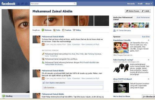 Menampilkan Foto Unik pada Profil Facebook